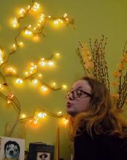 katy and lights
