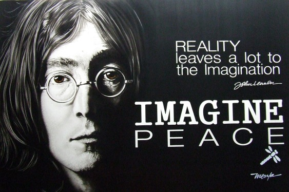John lennon Imagination