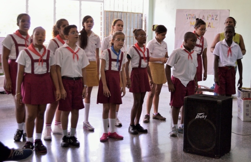student members of the choir