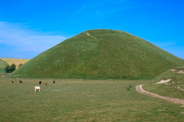 Most Mysterious Of All Monuments, Silbury Hill, Wiltshire, England.